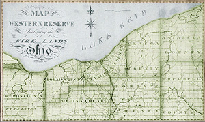Western Reserve History Fiscal Officer - Printable us map of western reserve